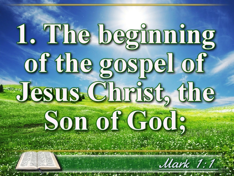 Biblical photo quotes - Mark