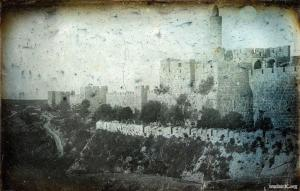 Старейшие снимки Иерусалима (1844) JPEG